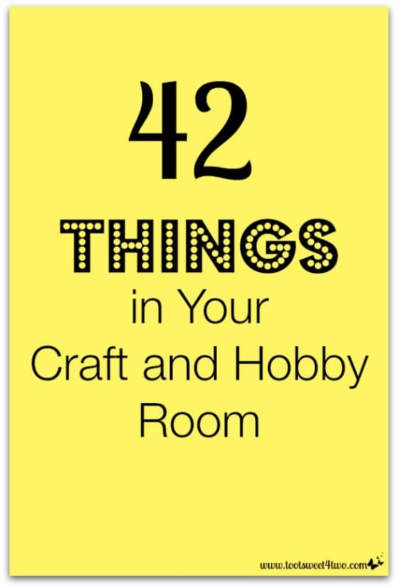 42 Things in Your Craft and Hobby Room revised cover