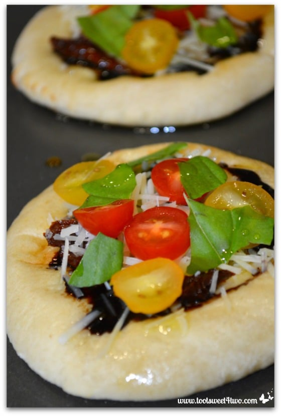 Caprese Flatbread with Balsamic Reduction Pic 3