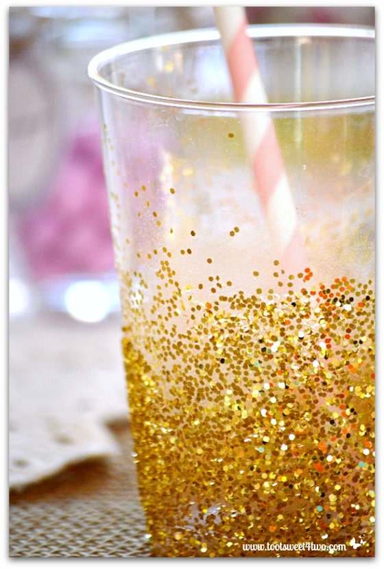 Easy Party Glitter Cups Pic 5