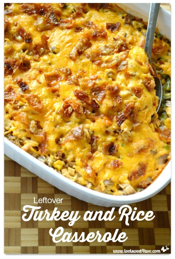 Leftover Turkey and Rice Casserole - 14 Awesome Things