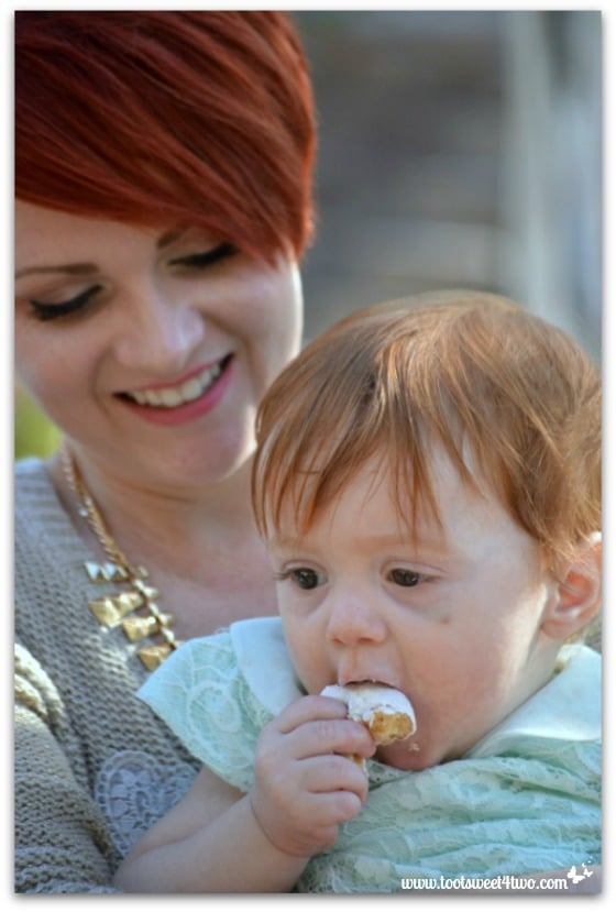 Nicole and Belle - Baby Turns One