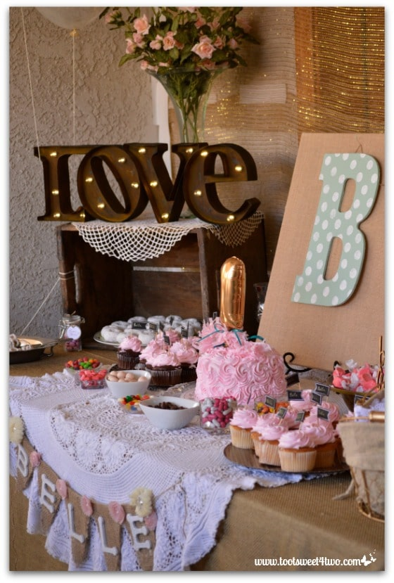 Party decor - Baby Turns One