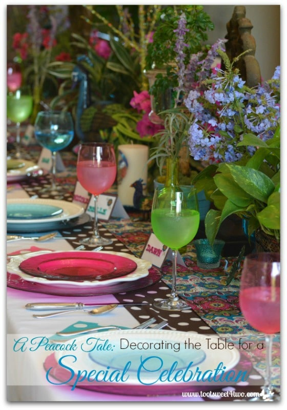 Peacock Table Decorations - 15 Awesome Things