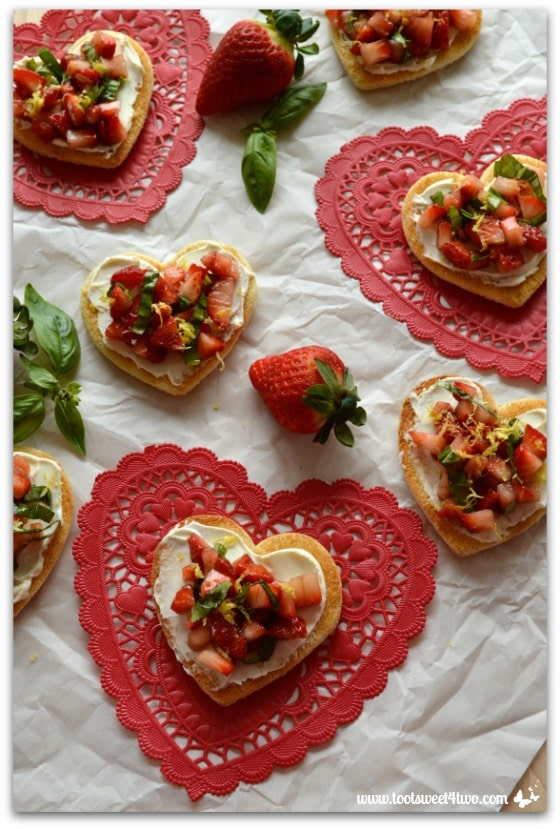 Sweetheart Strawberry Crostini Pic 4