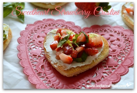 Sweetheart Strawberry Crostini Pic 6