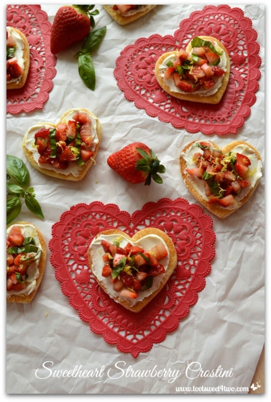 Sweetheart Strawberry Crostini Pic 7