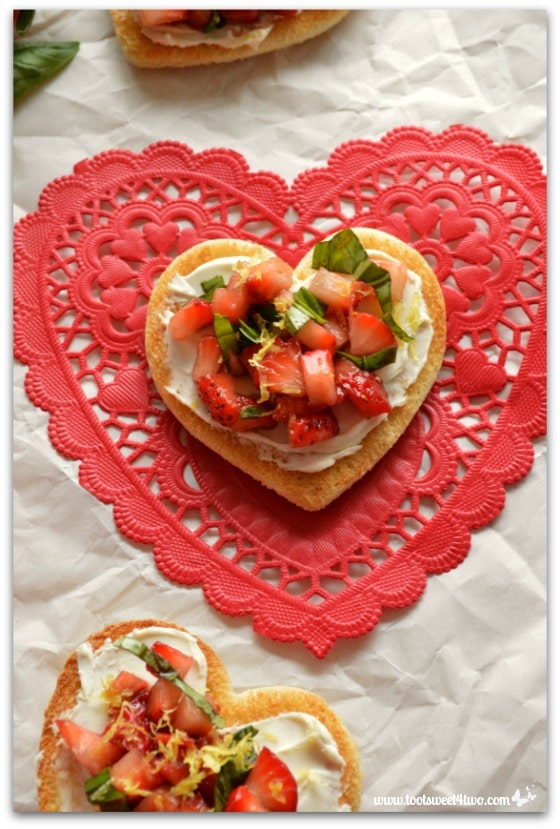 Sweetheart Strawberry Crostini Pic 8