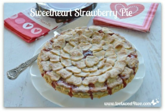 Sweetheart Strawberry Pie Pic 2