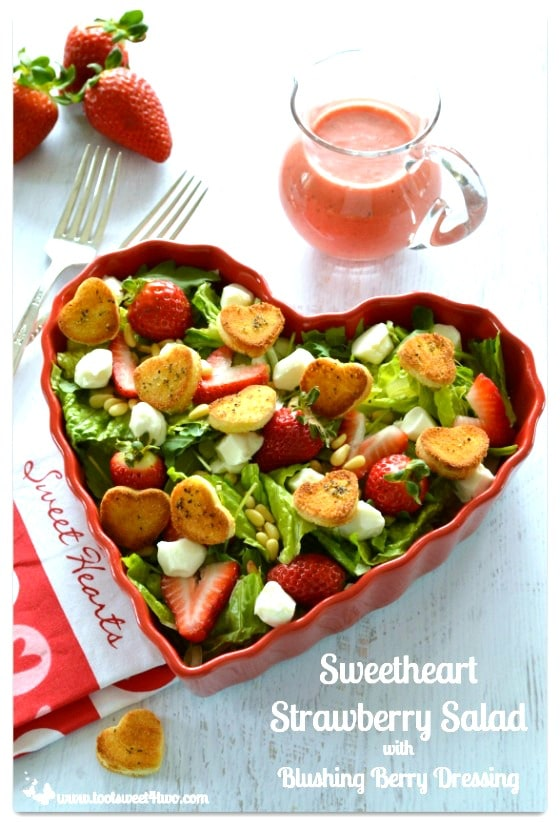 Sweetheart Strawberry Salad - 14 Awesome Things