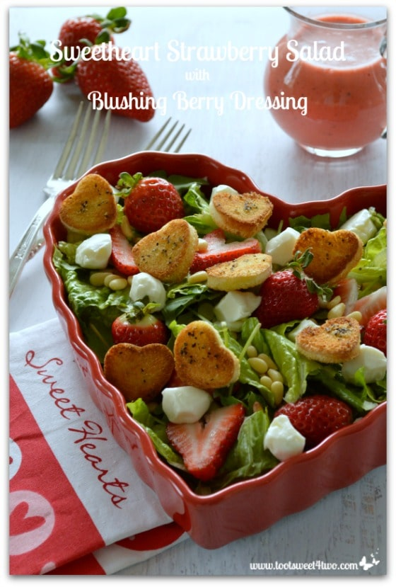 Sweetheart Strawberry Salad Pic 3