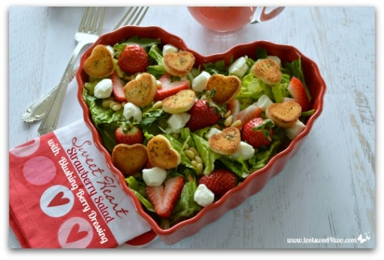 Sweetheart Strawberry Salad Pic 6