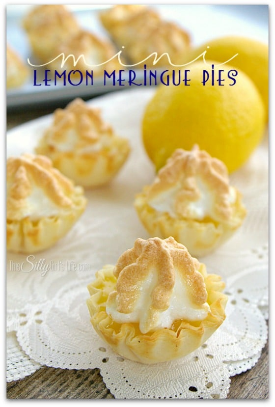 This Silly Girl's Life - Mini Lemon Meringue Pies