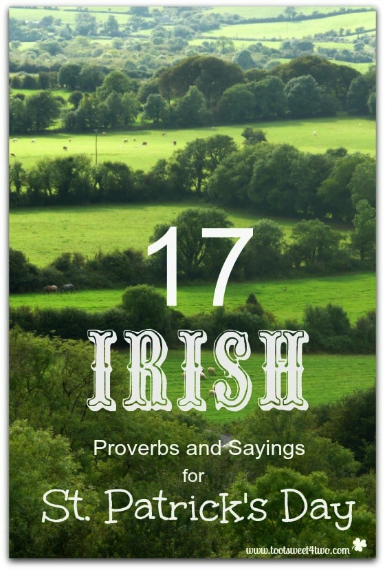 17 Irish Proverbs and Sayings for St. Patrick's Day - 21 Party Games