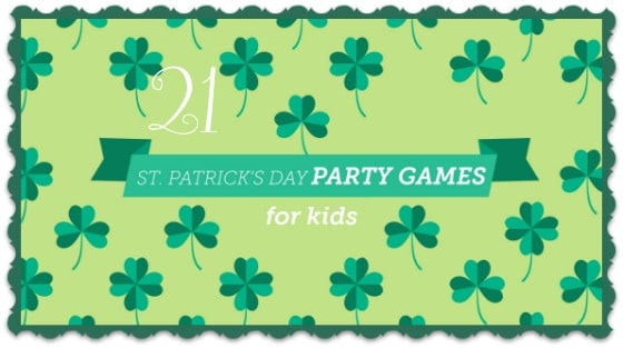 21 St. Patrick's Day Party Games for Kids cover