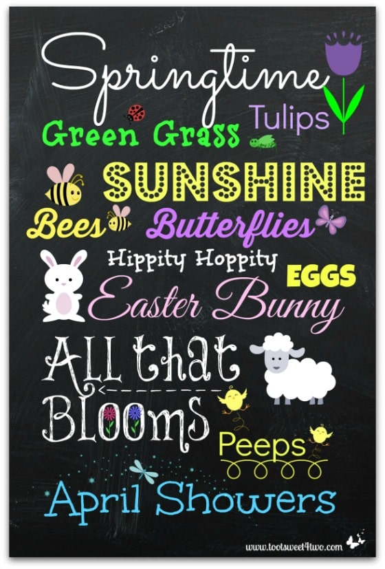 10 Free Spring And Easter Printables Toot Sweet 4 Two