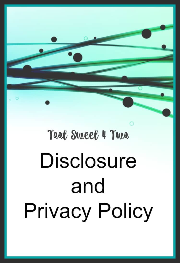 Disclosure and Privacy Policy cover