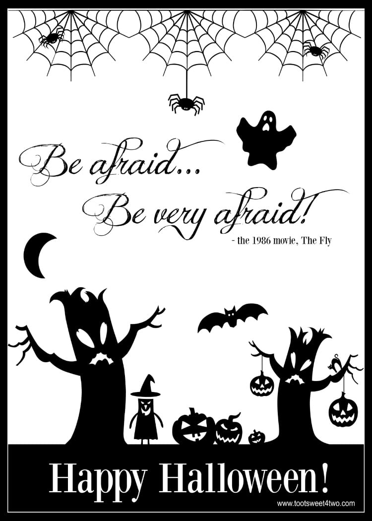 Be Afraid 750x1050