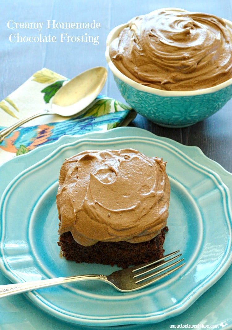 Creamy Homemade Chocolate Frosting Photo 1