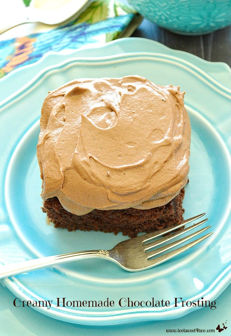 Creamy Homemade Chocolate Frosting Photo 5