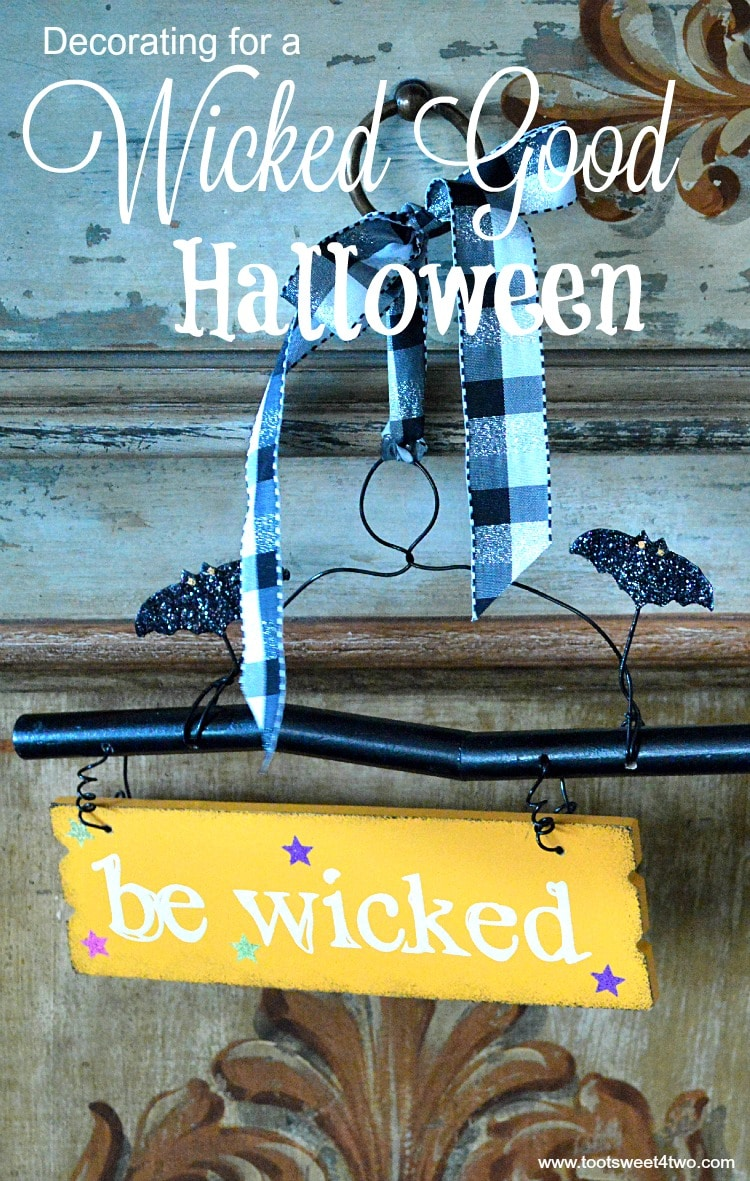 Decorating for a Wicked Good Halloween cover
