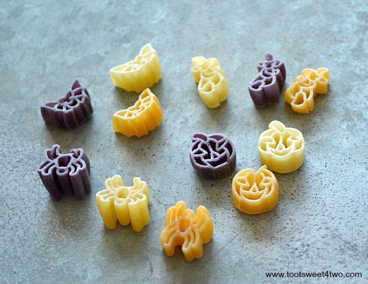 Halloween Pasta close-up