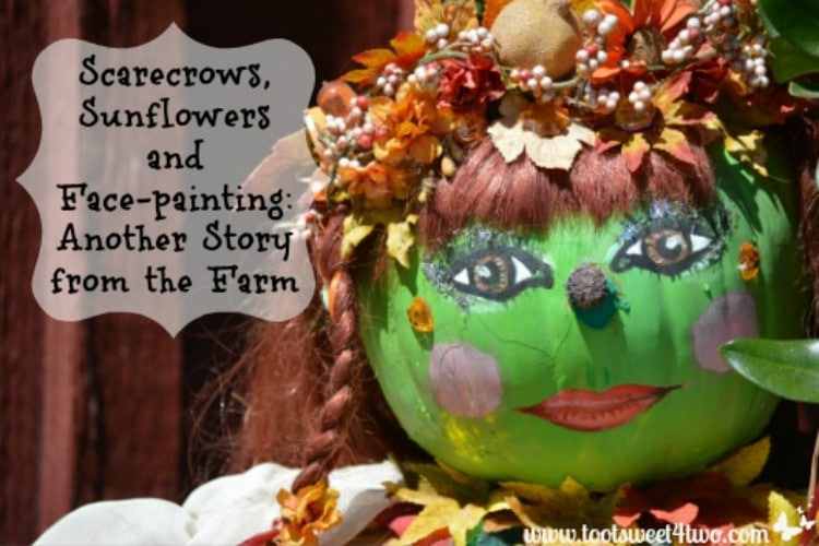 Scarecrows, Sunflowers and Face-painting 750x500