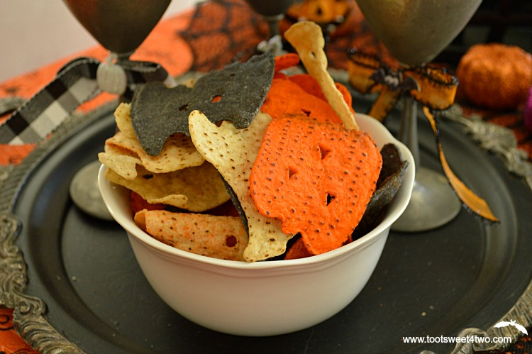 Spooktacular Party Chips horizontal