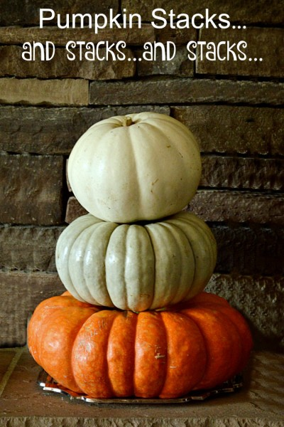 Pumpkin Stacks…and stacks…and stacks…