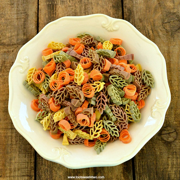 A bowl of dried Harvest Pasta