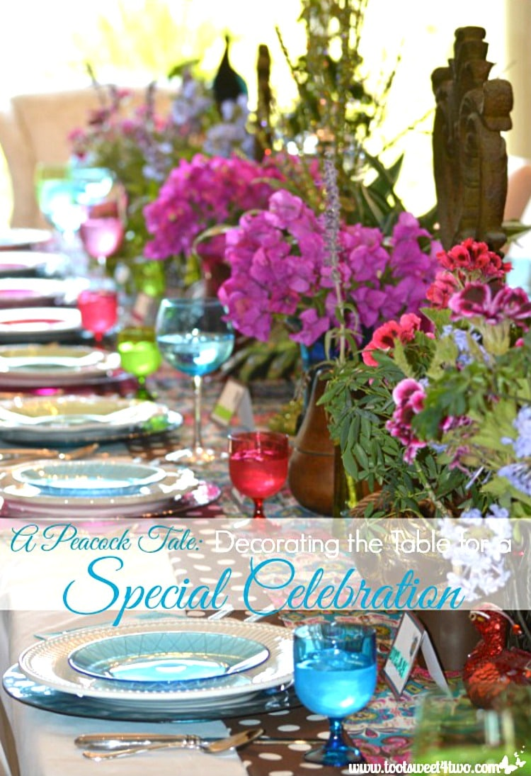 Decorating the Table for a Special Celebration 750x1095
