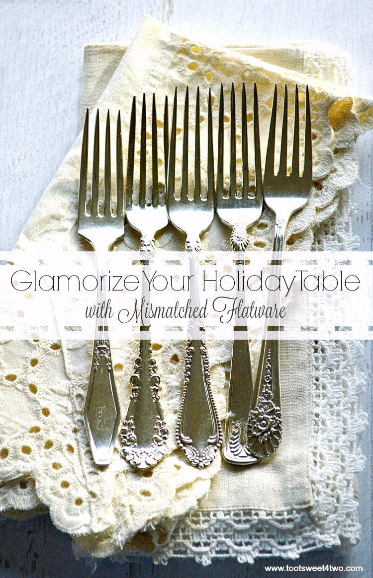 Glamorize Your Holiday Table with Mismatched Flatware cover