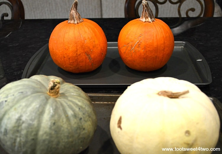 Pumpkins ready for the oven - Pic 5