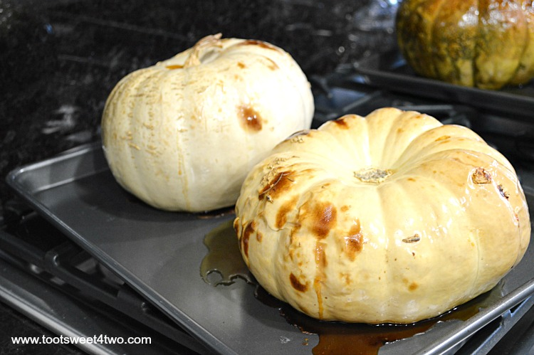 Roasted White Pumpkins out of the oven - Pic 8