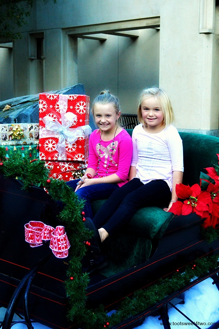Princesses in Christmas Sleigh