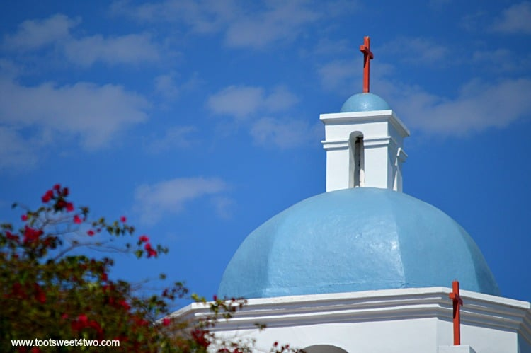 Bell Tower atop Dome at Mission San Luis Rey