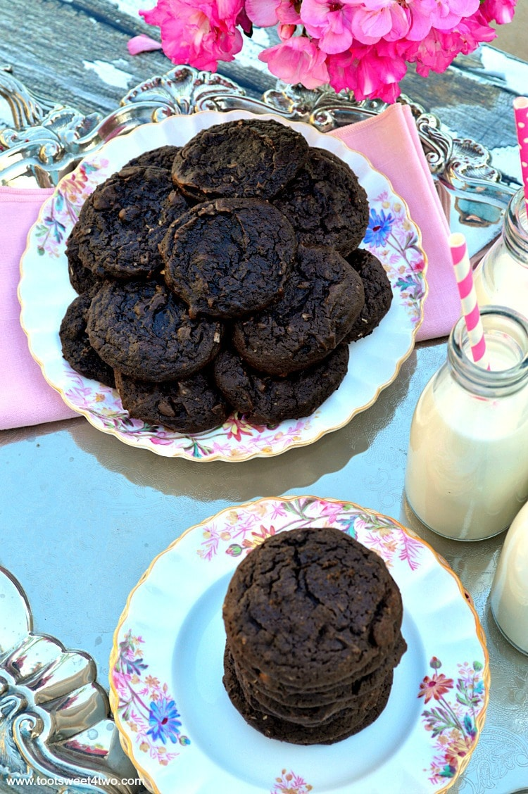 Dreamy Triple Chocolate Cookies - decadent and delicious!