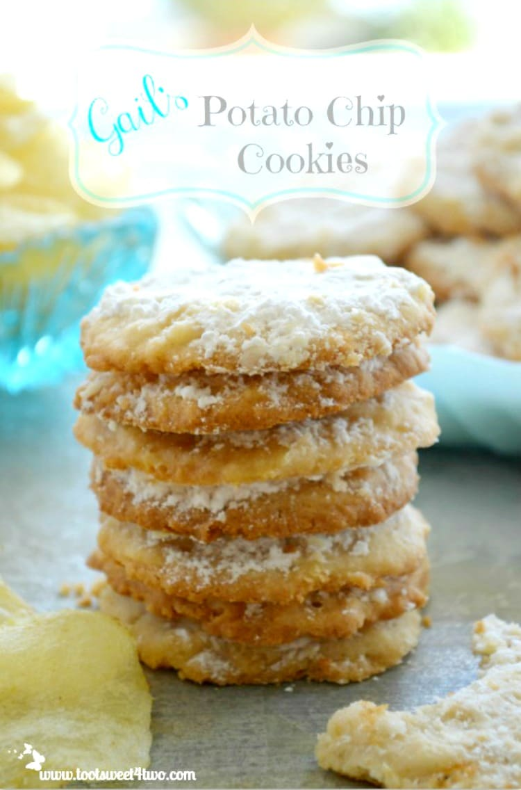 Gail's Potato Chip Cookies - sweet and salty deliciousness!