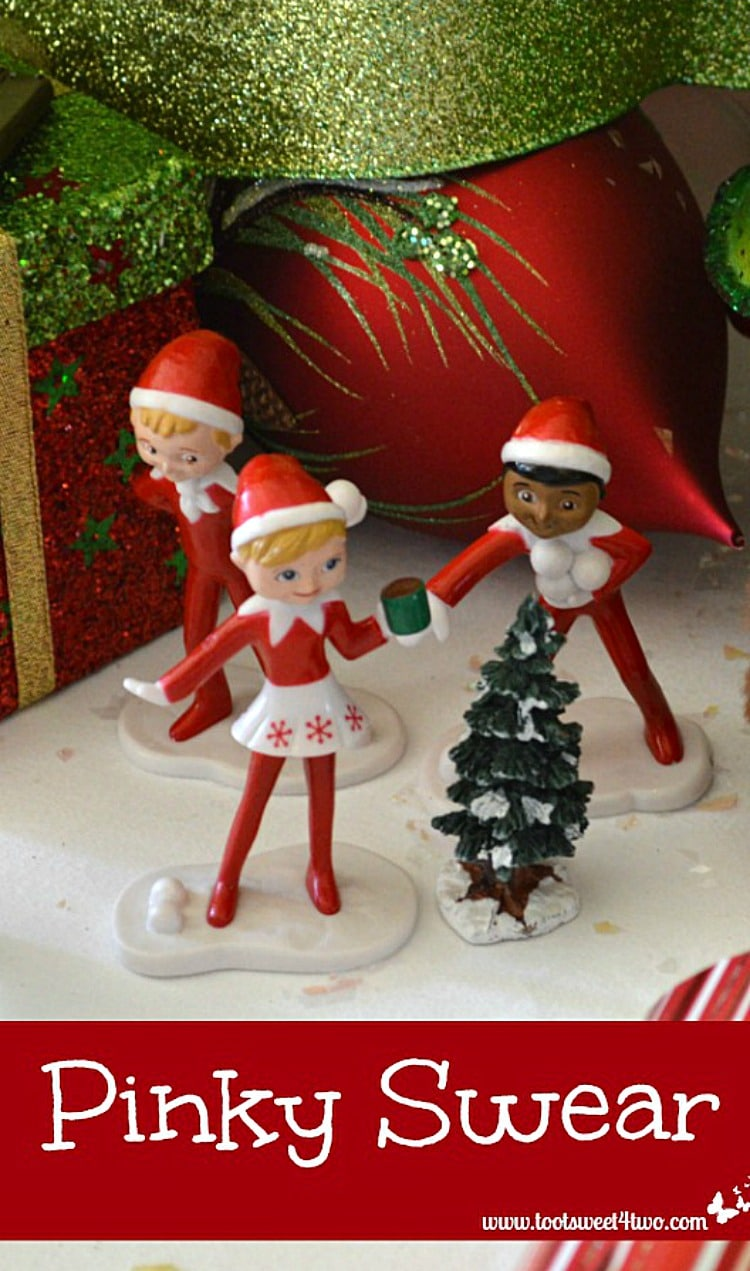 Pinky Swear - what happens when a little one wants an Elf on the Shelve figure