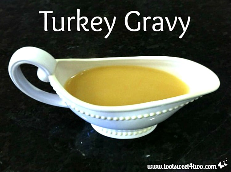 Turkey Gravy - homemade from scratch!