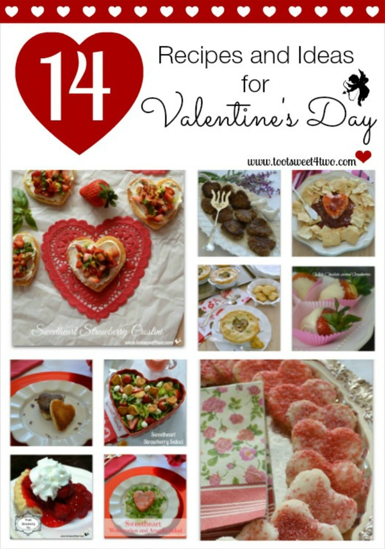 14 Recipes and Ideas for Valentine's Day 2015
