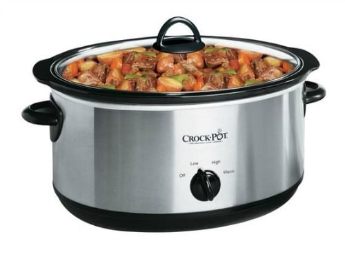 4-Quart Oval Crock Pot
