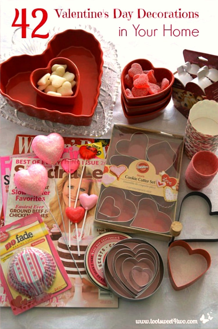 42 Valentine's Day Decorations in Your Home 750x1130