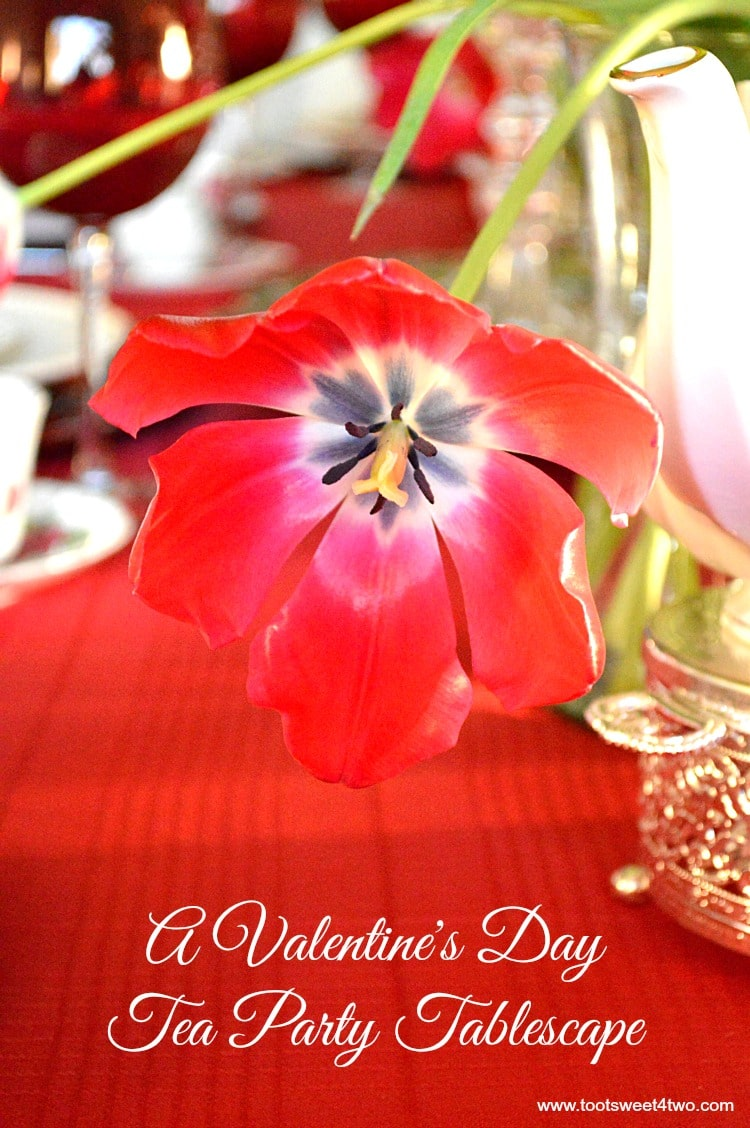 A Valentine's Day Tea Party Tablescape cover