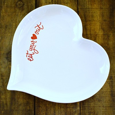 Fun, Heart-shaped Valentine's Day Platter