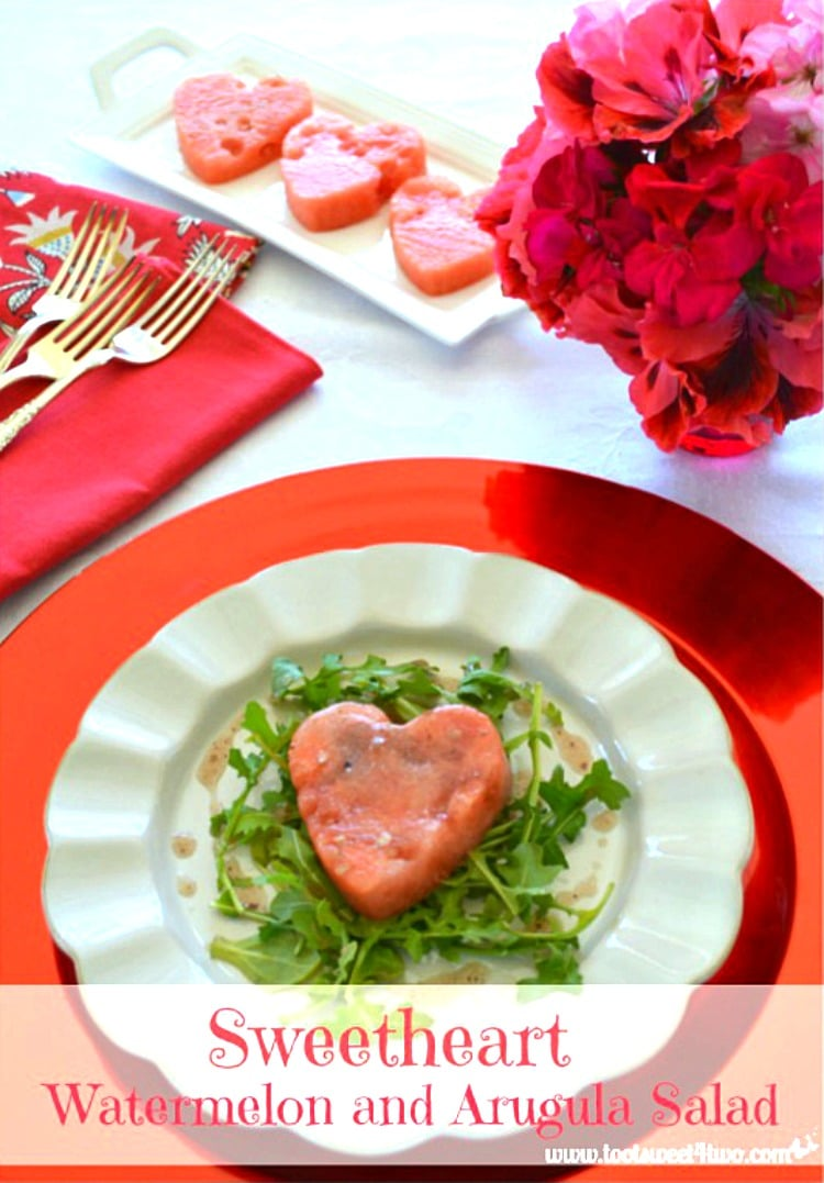 Sweetheart Watermelon and Arugula Salad 750x1077
