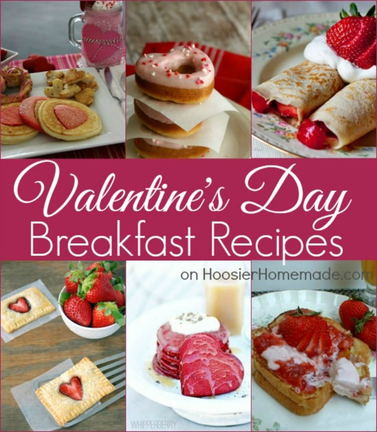 Valentine's Day Breakfast Recipes from Hoosier Homemade
