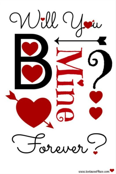 2 Days to Valentine's Day – a FREE Printable for Your Sweetie Pie