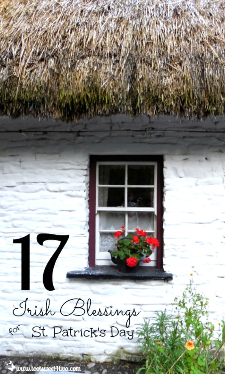 17 Irish Blessings for St. Partrick's Day 750x1247