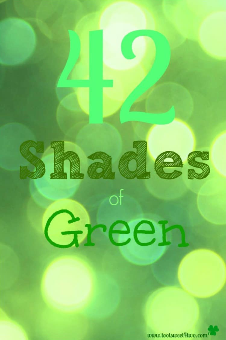 42 Shades of Green 750x1126