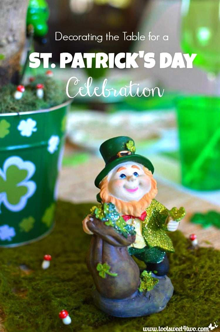Decorating the Table for a St. Patrick's Day Celebration cover 750x1131